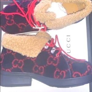 GG wool boots size US 1.5